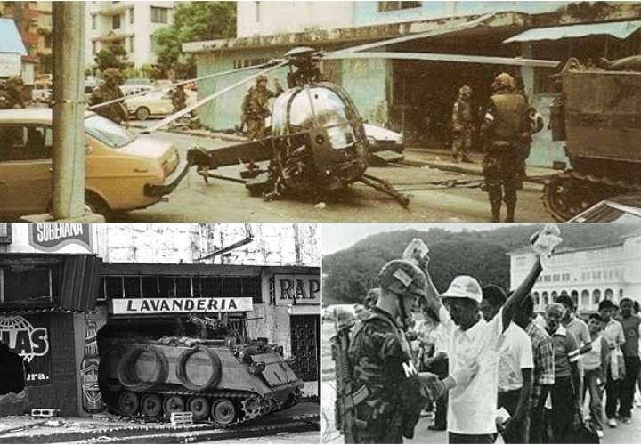 Estados Unidos invadió Panamá en diciembre de 1989
