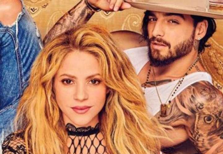 Shakira y Maluma destronan a Luis Fonsi con 'Clandestino'