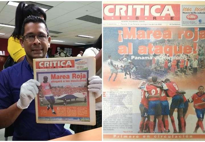 """La """"Marea Roja"""" nació en Crítica"""