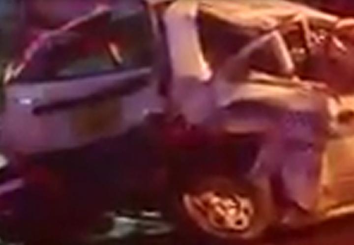 Tanganazo entre taxis deja tres heridos