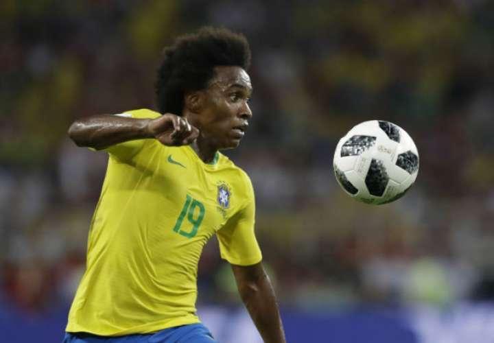 Willian es una de las mejores armas en el ataque de Brasil