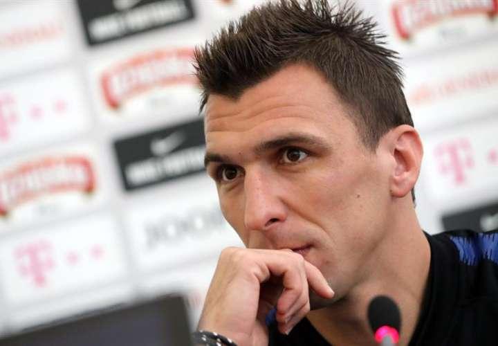 El jugador croata Mario Mandzukic. Foto EFE