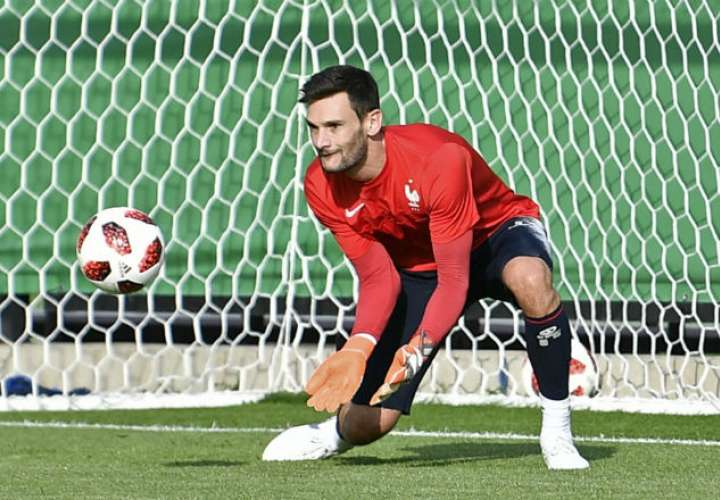 El guardameta Hugo Lloris. Foto:AP