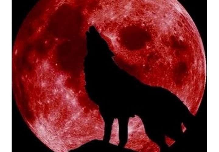 Luna de sangre hoy