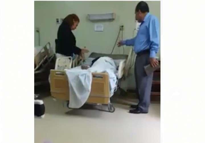 ¡Exorcismo en el hospital? Video