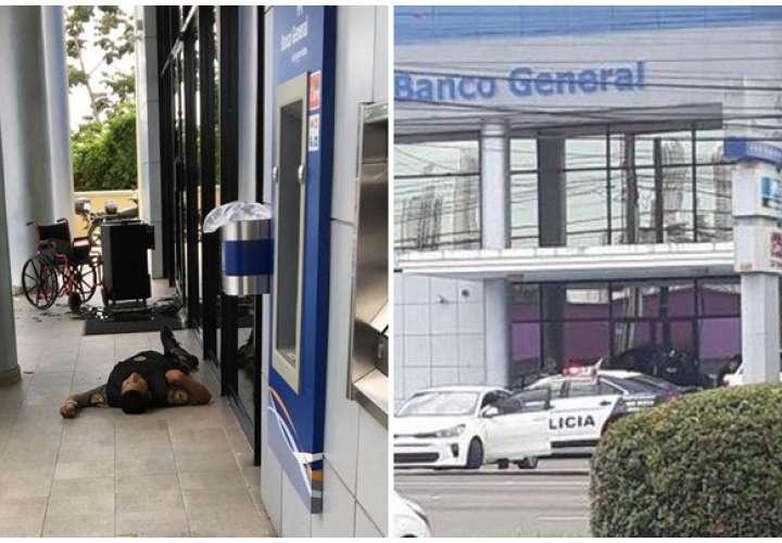 Matan a seguridad durante intento de robo al Banco General