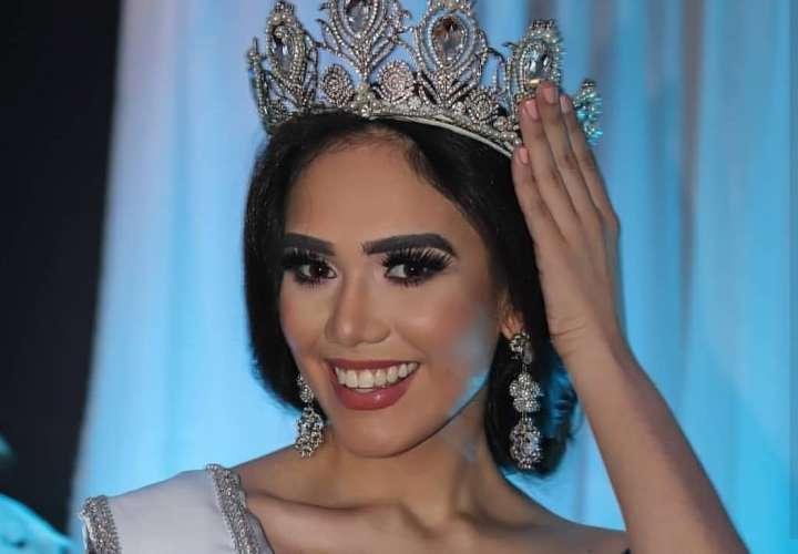 Nathalie Pino es la representante de Colón en el Señorita Panamá 2019