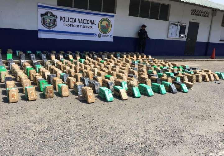 Entre $ 57 a 60 millones está valorado cargamento de droga en puerto de Colón