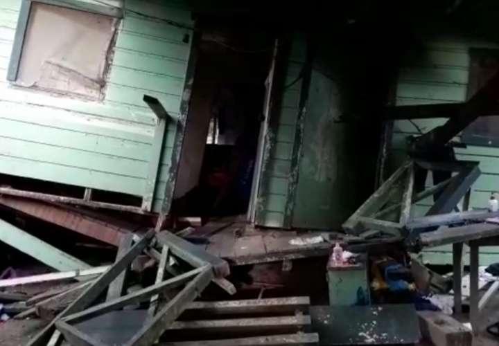 Familias afectadas por el sismo son reubicadas en un hotel en Barú