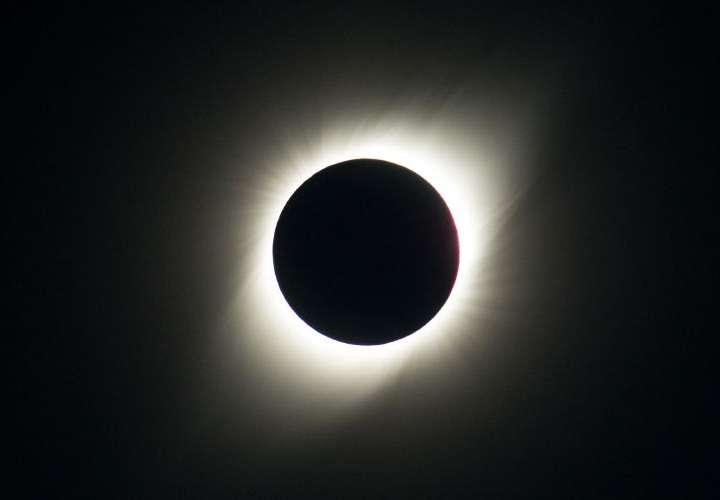 Eclipse parcial en Ecuador