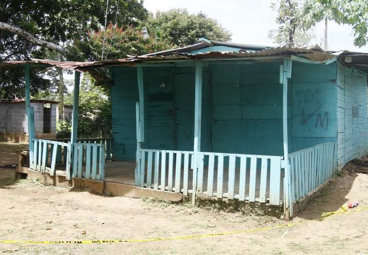 "Residencia donde ""King Kong"" presuntamente asesinó a su expareja. Foto: Edwards Santos"