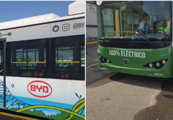Primer bus eléctrico inicia operaciones en ruta regular de la ciudad [Video]
