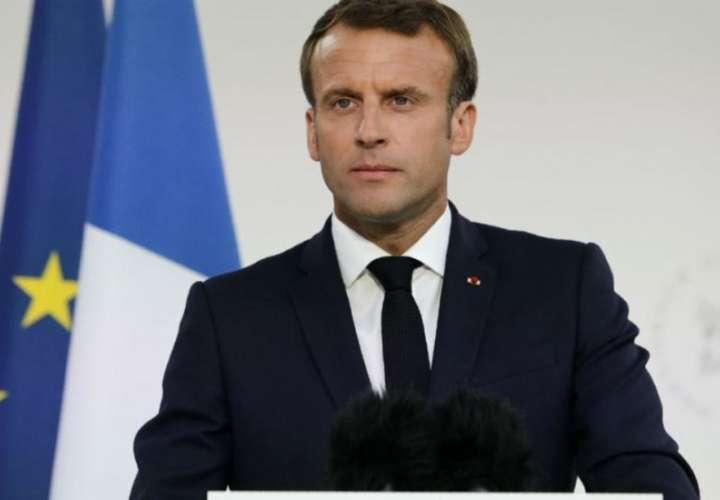 Presidente de Francia abordará el incendio de la Amazonia en el G7
