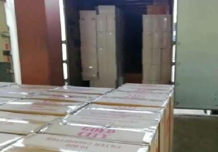 Decomisan más de $120 mil en cigarrillos de contrabando en Paso Canoas a ticos