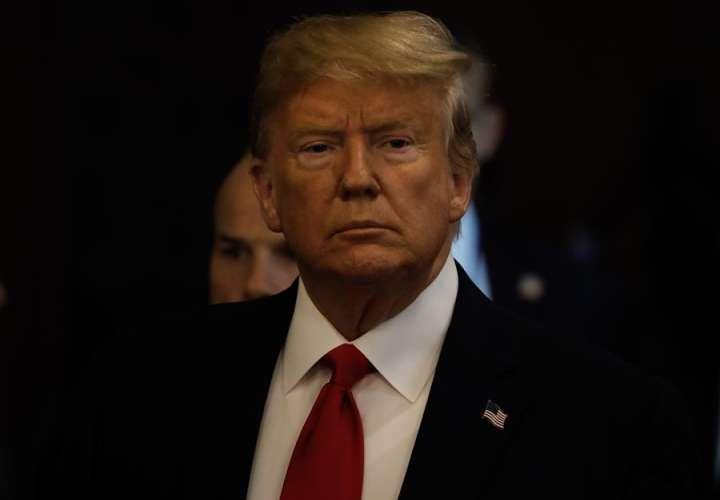 En la imagen el presidente de Estados Unidos, Donald Trump. EFE