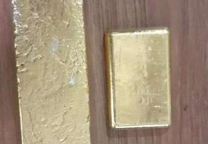Incautan lingotes de oro en comarca Guna Yala