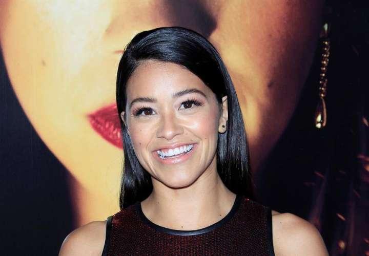 En la imagen un registro de la actriz estadounidense Gina Rodríguez. EFE