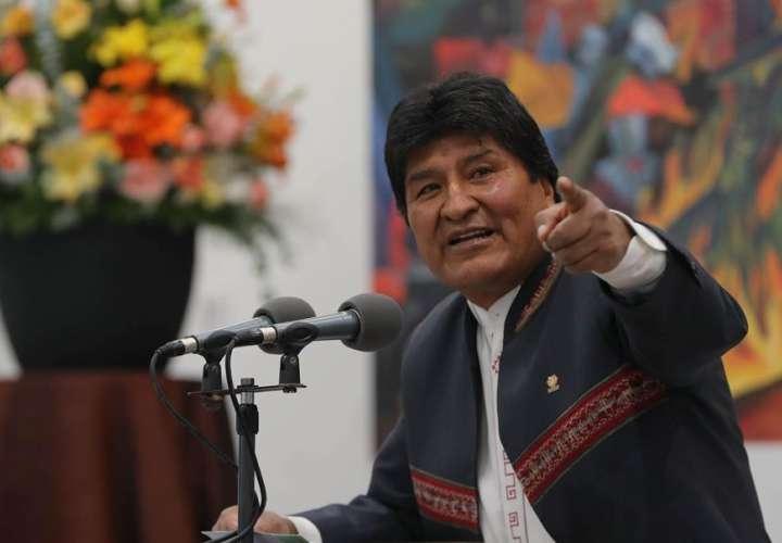 Evo Morales invita a Argentina, Brasil, Colombia y EE.UU. a auditar los votos