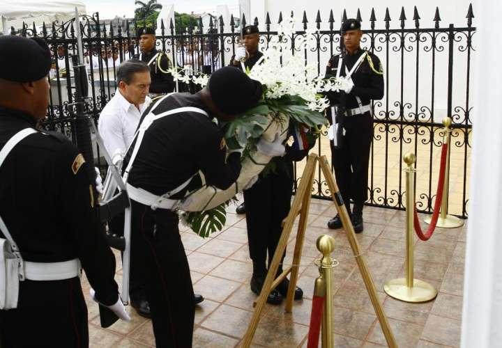 Presidente Cortizo preside acto en honor a Próceres de la Patria