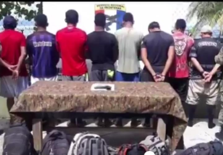 Detienen a 10 colombianos en campamento clandestino en Guna Yala [Video]