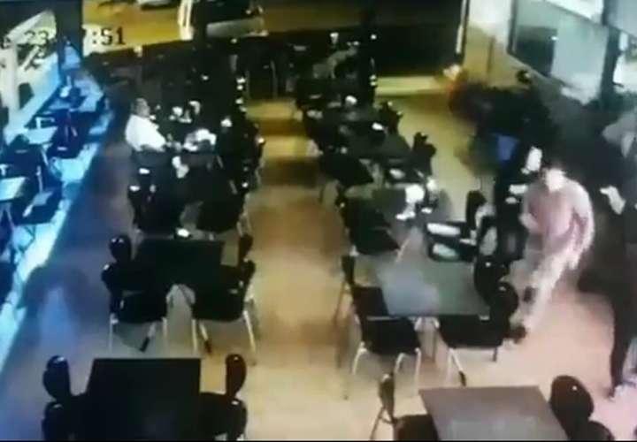 Divulgan video de privación y robo en Vista Hermosa