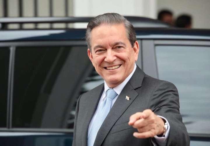 Presidente electo de la República de Panamá, Laurentino Cortizo.