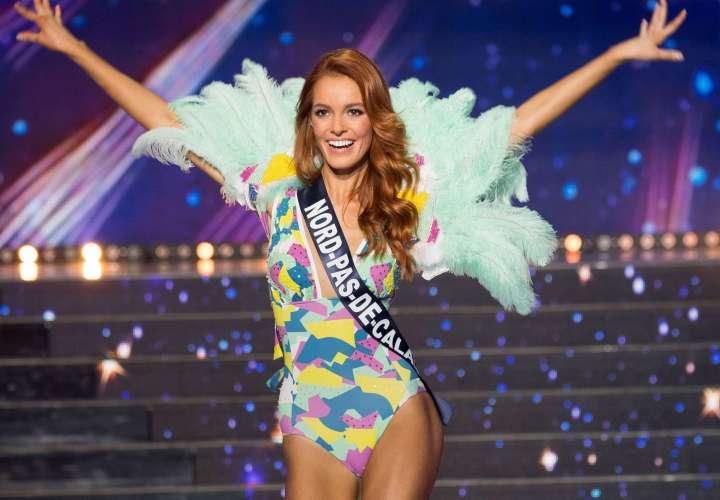 Miss Francia se la saca en la preliminar del Miss Universo