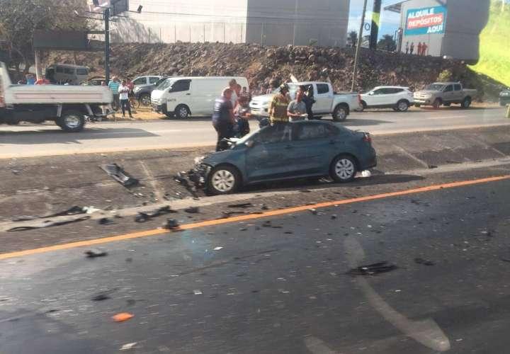 Un menor y  un adulto mueren en accidente tránsito en Gorgona [Video]