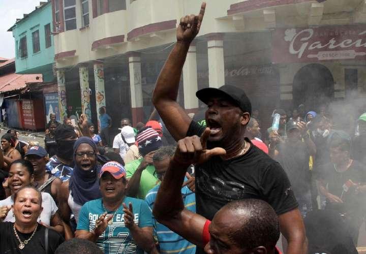 Suspenden llamado a huelga en Colón
