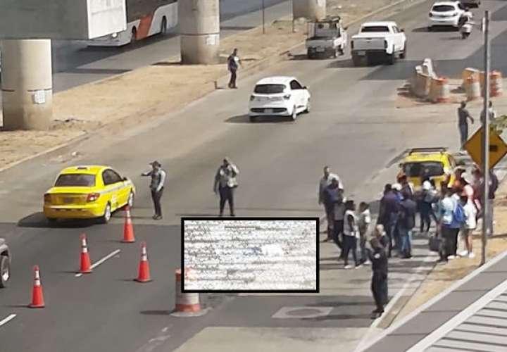 Joven se lanza de puente peatonal de Los Andes