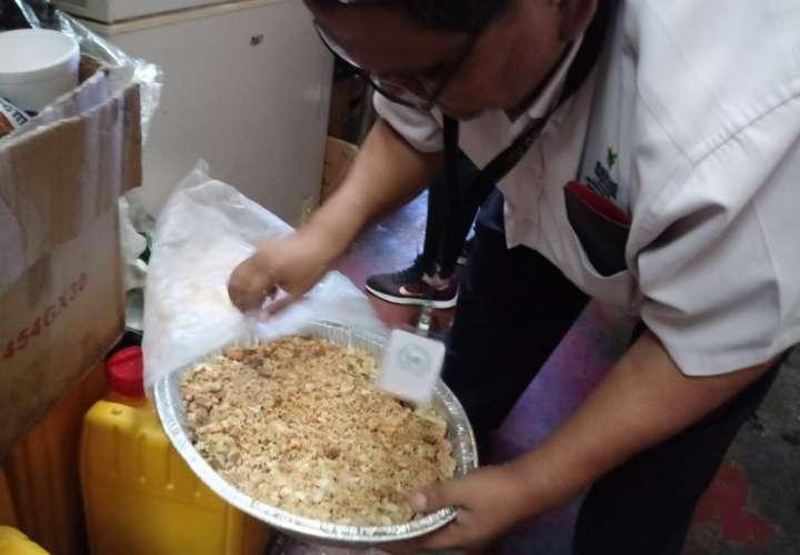 Minsa detecta alimentos en mal estado en carnaval chiricano