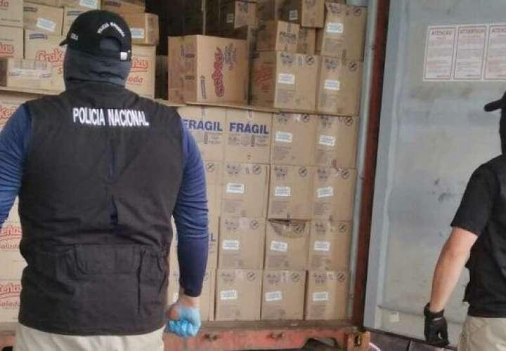 Incautan 23 paquetes de droga en contenedor con rumbo hacia Guatemala [Video]