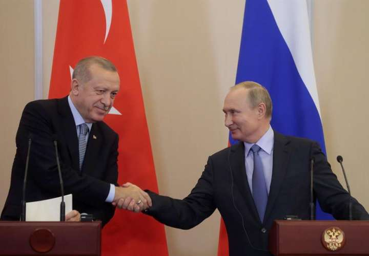 El Kremlin prepara una reunión entre Putin y Erdogan para la semana próxima