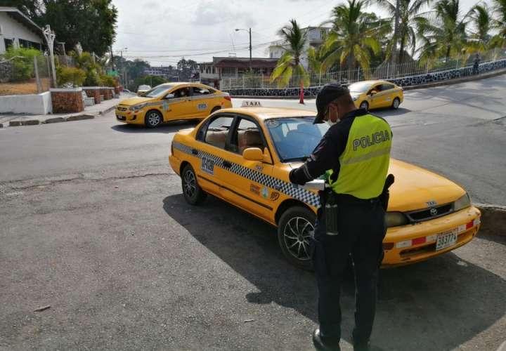 40 taxistas sancionados por incumplir horario de movilidad