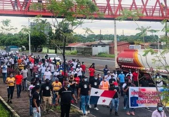 Exigen reactivación de proyectos para generación de empleos en Colón