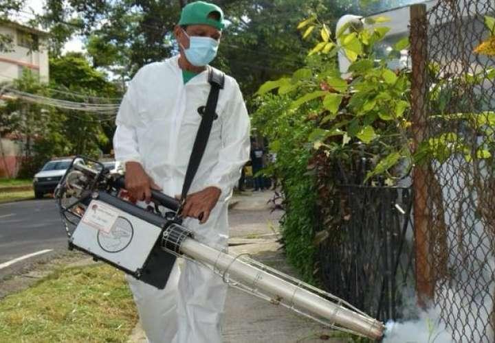 Mega operativo contra el dengue en Las Garzas, corregimiento con mayor casos