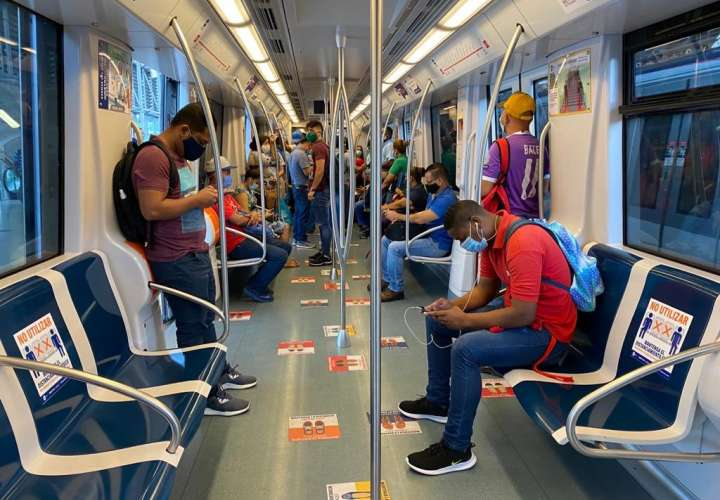 Metro de Panamá establece medidas tras la apertura del segundo bloque