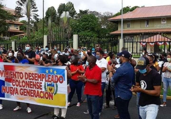 Desempleados colonenses inician esta tarde marcha hacia la Presidencia [Video]