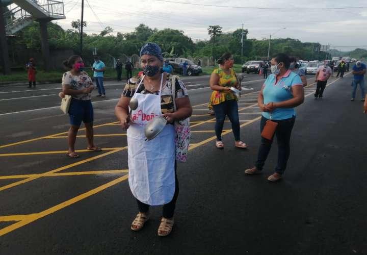 Trabajadores informales de Los Santos se unen para pedir apoyo del gobierno