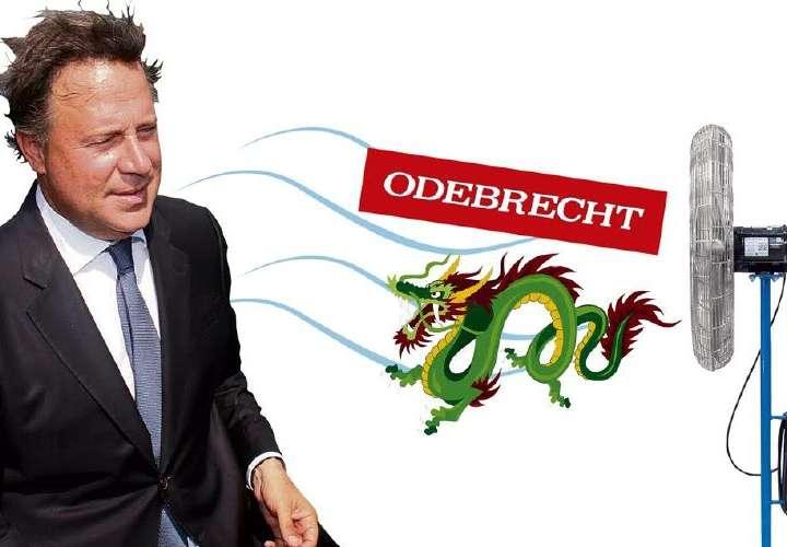 Dinero de Odebrecht llegó a Varela vía EEUU