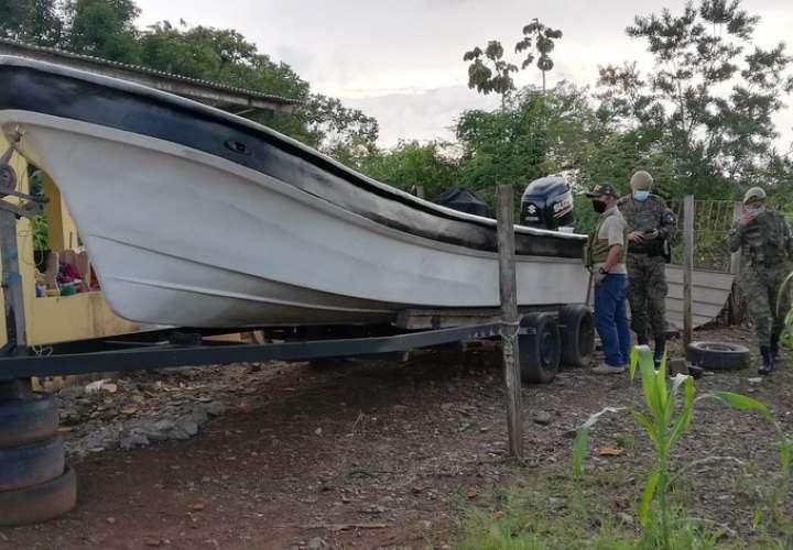 Recuperan lancha hurtada en Chepo