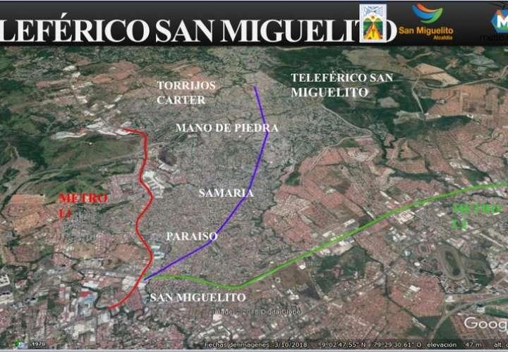 Construcción del teleférico es un hecho en San Miguelito