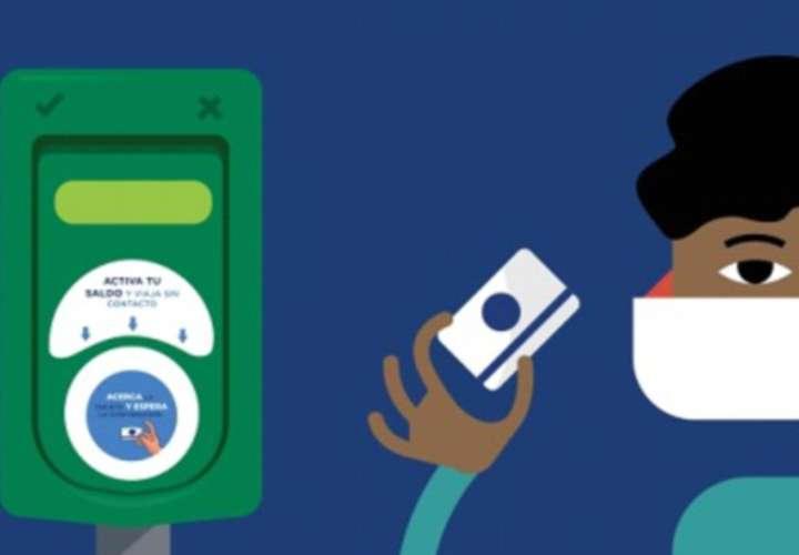 App para recargar tarjeta de Metrobus sin contacto