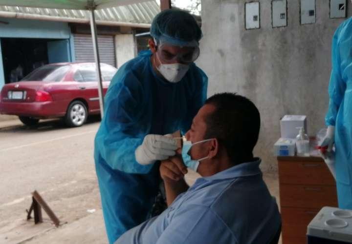 Controlan casos positivos de Covid-19 en mercado de La Chorrera