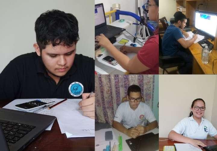 Panameños a la olimpiada de Astronomía