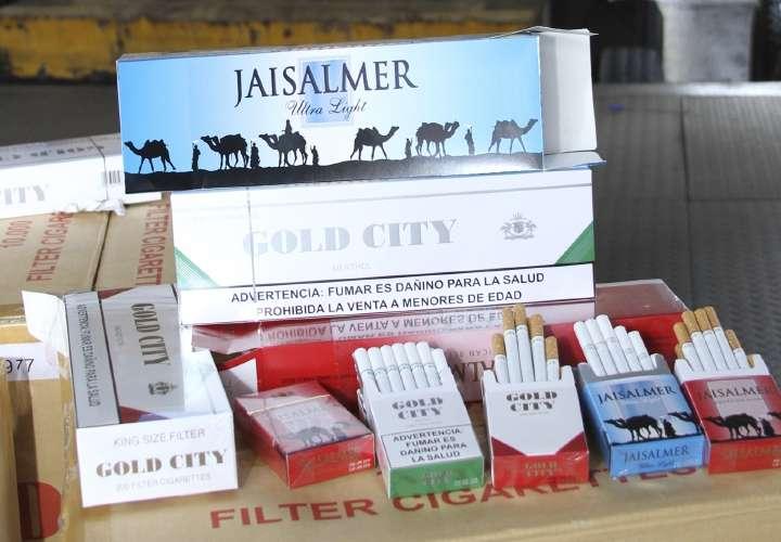 Millonaria incautación de cigarrillos de contrabando