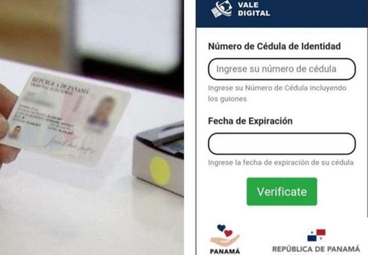 Nuevo pago de vales digitales