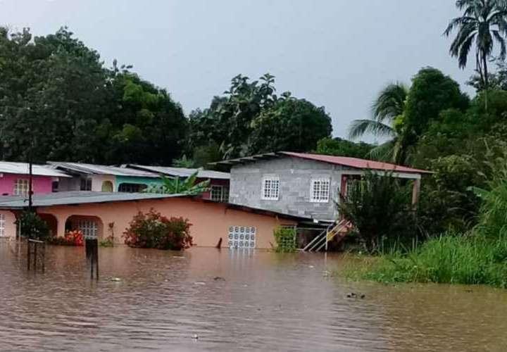 Inundación berraca en Arraiján y Chorrera