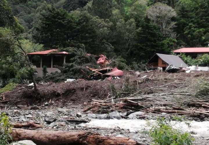 Aumenta a nueve las víctimas por desastre en Chiriquí