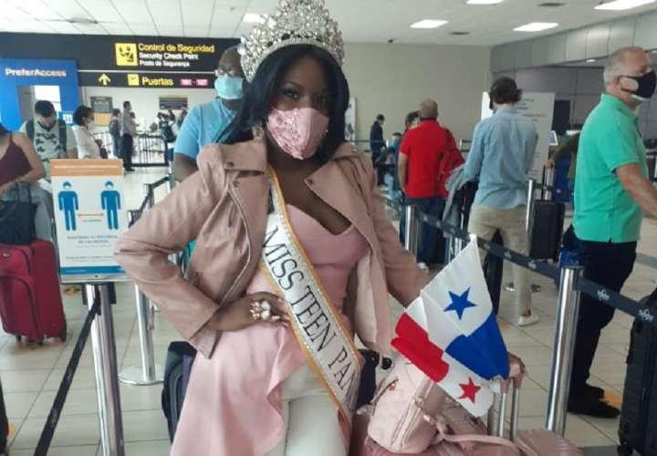 Panameña se luce en El Salvador y gana concurso internacional de belleza